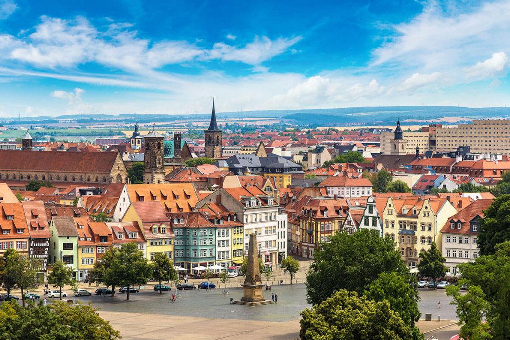Erfurt Aussicht vom Petersberg